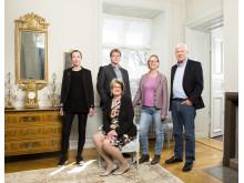 Gruppledarna i GrönBlå Samverkan - inomhus
