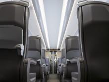 Class 800/801 interiors - Standard Class