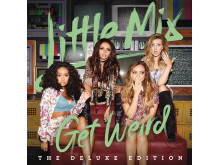 Little Mix - Get Weird albumomslag