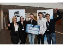 3. plass: Omega Innovations, Tromsdalen vgs, Troms