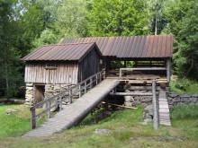 Halland - Brunnsbacka sågkvarn utanför Unnaryd,  Hylte