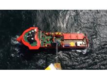 'Esvagt Faraday' offshore wind farm