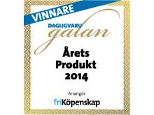 Zeta Snackoliver - Årets Produkt 2014 Dagligvarugalan