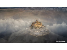 2018 SkyPixel Contest-Photo Group-Grand Prize-Mont nt Michel