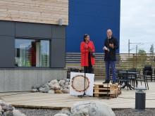 Invigningstal av Emil Högberg, statssekreterare hos samordnings- och energiminister Ibrahim Baylan.