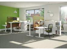 EFG Active - sähkösäätöiset istuma-seisomapöydät
