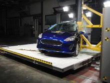 2017 Ford Fiesta pole test