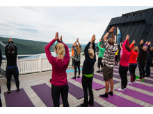 Yoga på Åre Mountain Festival