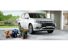 Mitsubishi Outlander Plug-in Hybrid Probefahrtvereinbarung