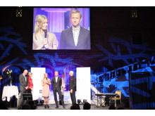 Vinnare Årets Grundare: Karin Jimfelt-Ghatan och Per Holknekt