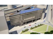 Clarion Sign Hotel solcellsanläggning projektbild