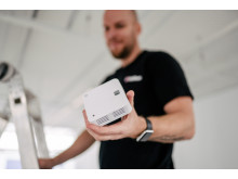 Brandvarnare med wifi i trådlöst brandvarningssystem