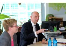"""Ministerpräsident Woidke auf """"ZukunftsTour Jugend"""" an der TH Wildau"""