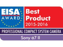 EISA 2015 Sony Alpha 7 II