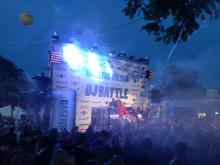 DJ Battle by night