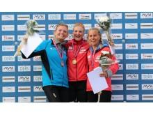 Pallen kvinner jaktstart NM rulleskiskyting