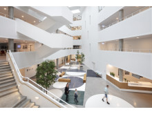 Center for Sundhed Holstebro, atrium