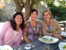 Josephine Wallenberg, Maria Westerlund och Vicky Jimenez