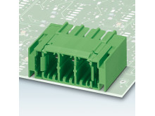 Robust headers with solder anchor
