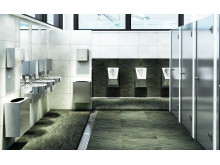 Stainless steel sanitary in public environment