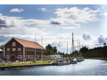 Ställplats vid Göta kanal i Borensberg