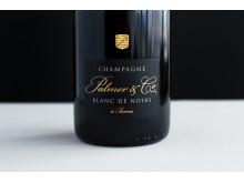 Champagne både som aperitif och till mat - Palmer Blanc de Noris (349 kr, nr 75799)