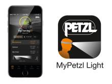 Styr Petzl Nao+ via en app i mobilen