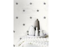 Klassiska marin stjärna i grått!