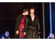 Press photo: Anders J Dahlin, Christophe Dumaux. Mitridate, Drottningholms Slottsteater 2014