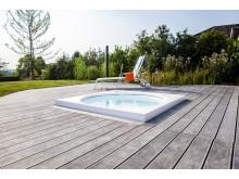 Villa Fulda mit Kebony und Naturpool