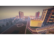Minecraft Future City Folkungaskolan
