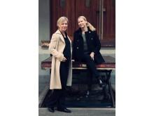 Johanna Fagrell Köhler (VD på Creuna) och Anna Bostam (VD på Fanclub)