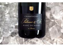 Elegant champagne gjord på 100% blå druvor - Palmer Blanc de Noris (349 kr, nr 75799)