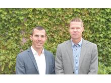 Simon Lindau och Peter Öfverström