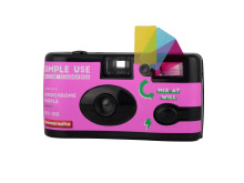 Lomography Simple Use Film Camera_LomoChrome Purple_quarter left