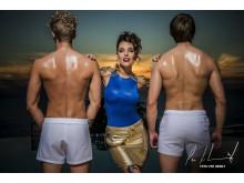 Triana Iglesias på Paradise Hotel by Per Heimly