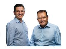 Henrik Zadig CEO & Tomas Ljunglöf CFO, Pierce AB