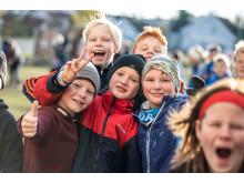 Femteklasse ved Vindingstad skole på Gjøvik