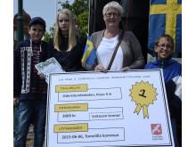Vinnarna i Minecraft-tävlingen: Odenslundsskolan, klass 5-6