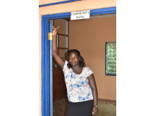 Bank manager Diana, Ghana 2019