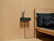 SYMFONISK wifi-højttaler (799,-). Kan bære 3 kg og anvendes som boghylde eller natbord.