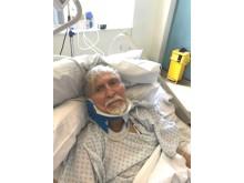 Ahmet Dobran, 82, victim of robbery.