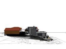 Terreng og hus i sammenheng