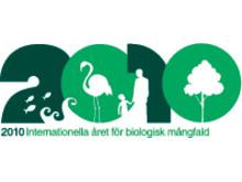 Logo: Internationella året för biologisk mångfald