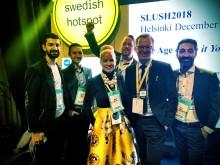 Arrangörerna Energimyndigheten Sasan Shaba, Maria Kessling Almi Invest, Mikael Damberg Näringsminister, Arash Sangari Tillväxtverket