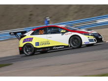 Mattias Andersson, Honda Racing Sweden, Honda Civic TCR.
