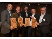Vinnarna av Stockholms Byggmästareförenings ROT-pris 2012