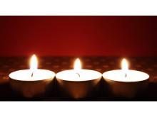 De tre lysene