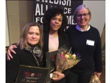 PRESSBILD: De prisas för jämtställdhet