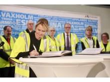 "Marie-Louise Forsberg-Fransson (S) signerar systemanalysen ""En bättre sits"""